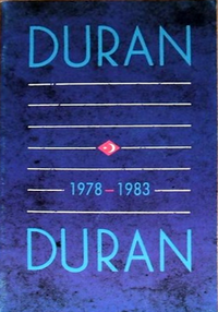 Official 1978-1983 Fan Club Booklet duran duran