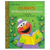 Elmos12DaysofChristmasGoldenBooks