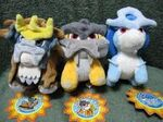 Legendary Beast Pokedolls