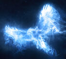 Dumbledores phoenix patronus
