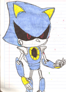 Metal Sonic HYRO