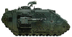 Black Brethren of Ayreas Land Raider