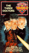 The Three Doctors VHS US cover