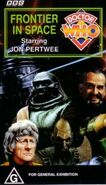 Frontier in Space VHS Australian cover