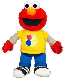 Talking elmo plush rocking shapes and colors 1