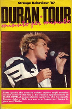 Book duran duran elena ravelli. - ANNI 1987 - - EDIZIONE JUMBO POSTER. - CONDIZIONI BUONE. - -FORMATO RIVISTA 23X14 COPERTINA MORBIDA