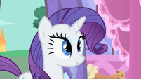 Rarity happy because Photo Finish accepted Fluttershy S1E20