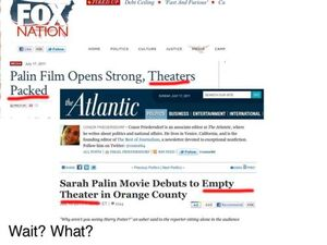 Fox news sarah palin movie pack