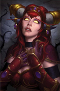 Alexstrasza Mourns