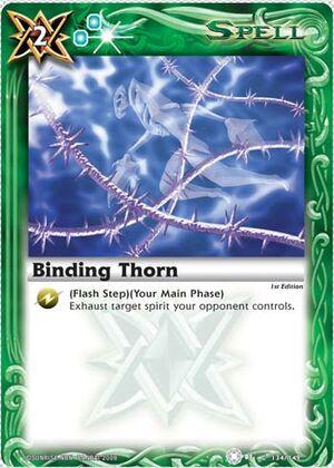BS01 -battle spirits set 1 -spirits. 300px-Bindingthorn2