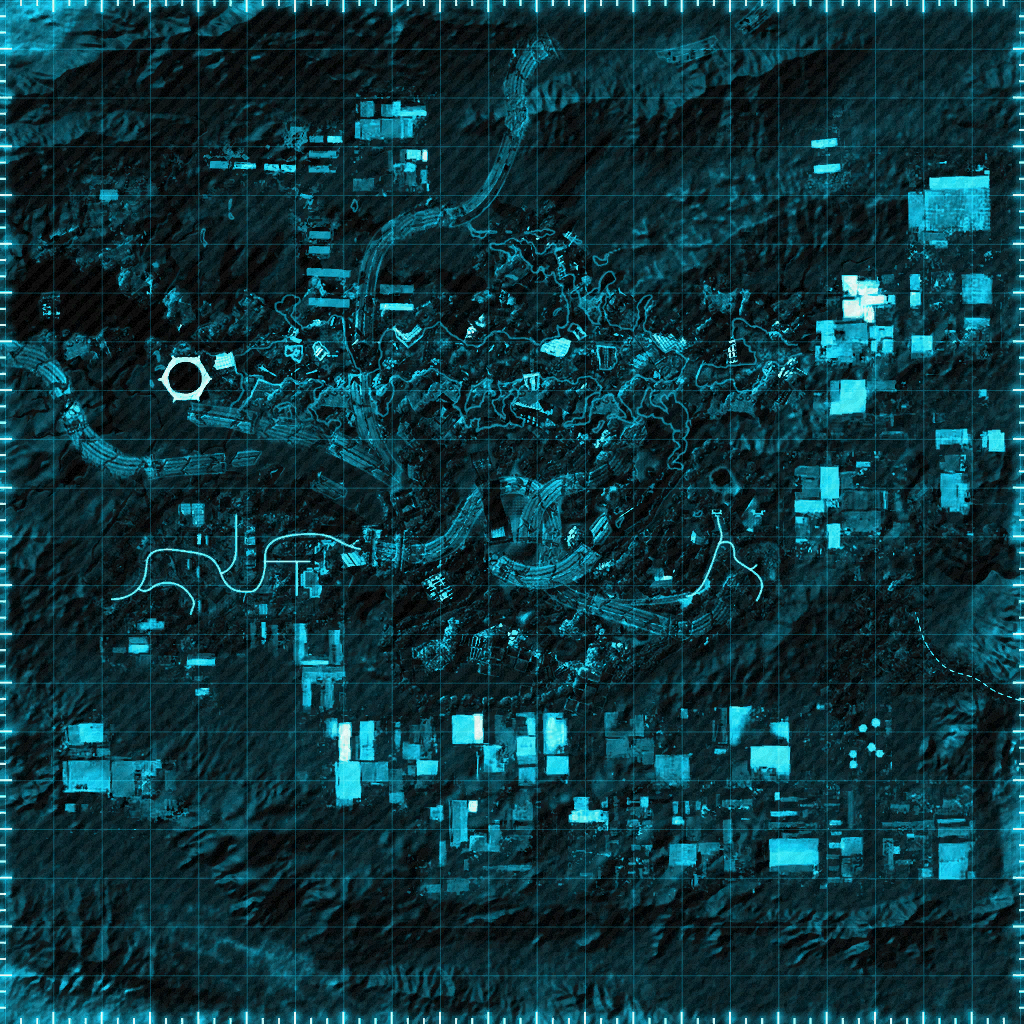 Map of the Divide! : Fallout: New Vegas