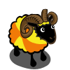 Gold Beach Ball Ram-icon