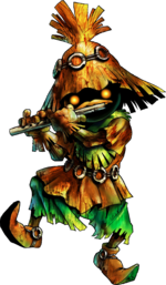 Skull Kid Artwork 3d