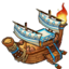 FireShipEgyptian