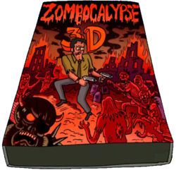 Zombocalypse 3D cover art