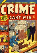 Crime Can&#39;t Win Vol 1 7