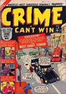 Crime Can&#39;t Win Vol 1 6