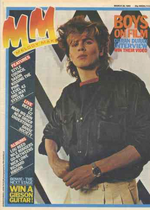 MELODY MAKER MAGAZINE - MARCH 26 1983 duran duran