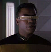 La Forge hologram