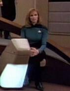 Beverly Crusher hologram