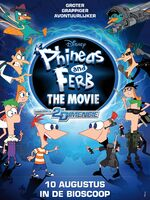 Phineas and Ferb Across the 2nd Dimension Dutch theatrical poster