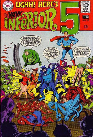 Cover for Inferior Five #10