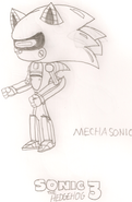 Mecha Sonic HYRO