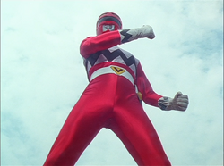 GingaRed Gaoranger vs. Super Sentai