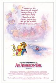 Pooh's Adventures of An American Tail Poster