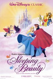 Pooh&#39;s Adventures of Sleeping Beauty Poster