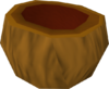 Coconut shell detail