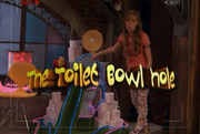Toilet Bowl Hole