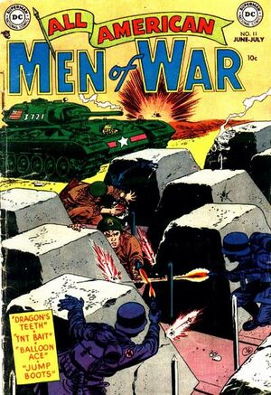 Cover for All-American Men of War #12