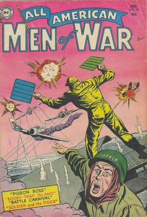 Cover for All-American Men of War #14