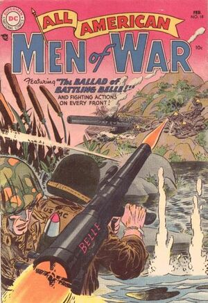 Cover for All-American Men of War #18