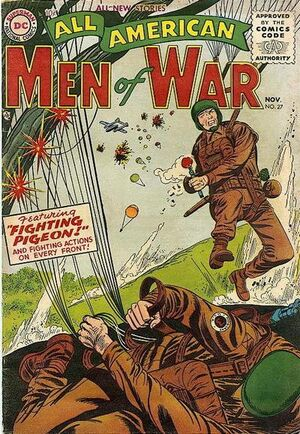 Cover for All-American Men of War #27