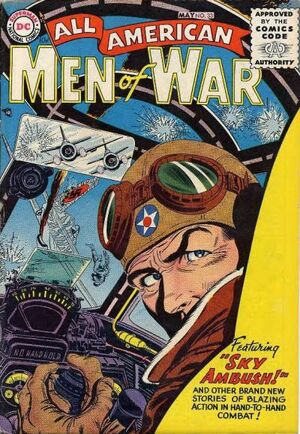 Cover for All-American Men of War #33
