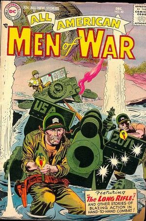 Cover for All-American Men of War #40