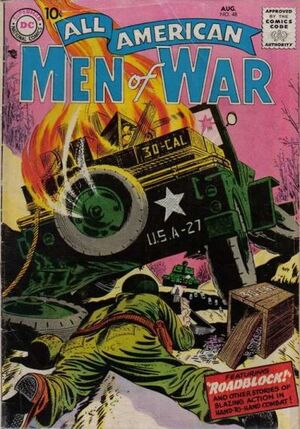 Cover for All-American Men of War #48