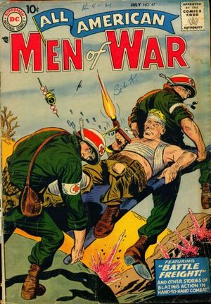 Cover for All-American Men of War #47