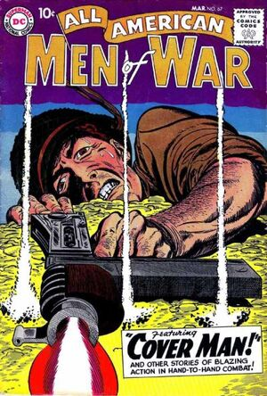 Cover for All-American Men of War #67