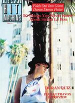Magazine hit machine no.11 duran duran