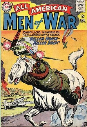 Cover for All-American Men of War #105