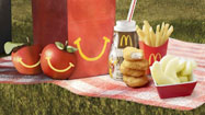 Apple suppliers behind McDonald's on healthier Happy Meals