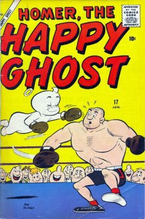 Homer, the Happy Ghost Vol 1 17