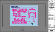 Modelsheet laptop blastronaut screen - closeup