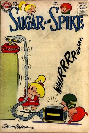 Cover for Sugar and Spike #20