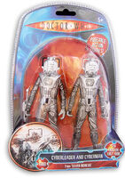 Cyber Leader & Cyberman Figures
