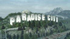 Paradise City sign