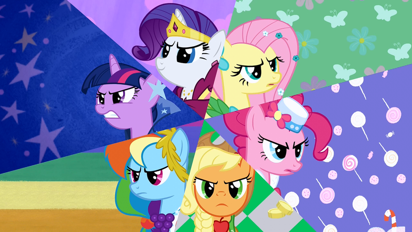 Radio Brony: Programa 07 830px-Main_Six_determined_to_have_the_Best_Night_Ever_S1E26